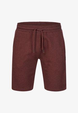ECKERD - Shorts - bordeaux mix