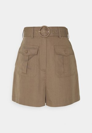 LAUREN LOVELY SUMMER - Shorts - safari