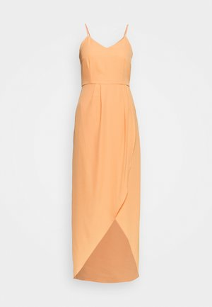 YASVADUZ STRAP DRESS SHOW - Maxi šaty - cantaloupe