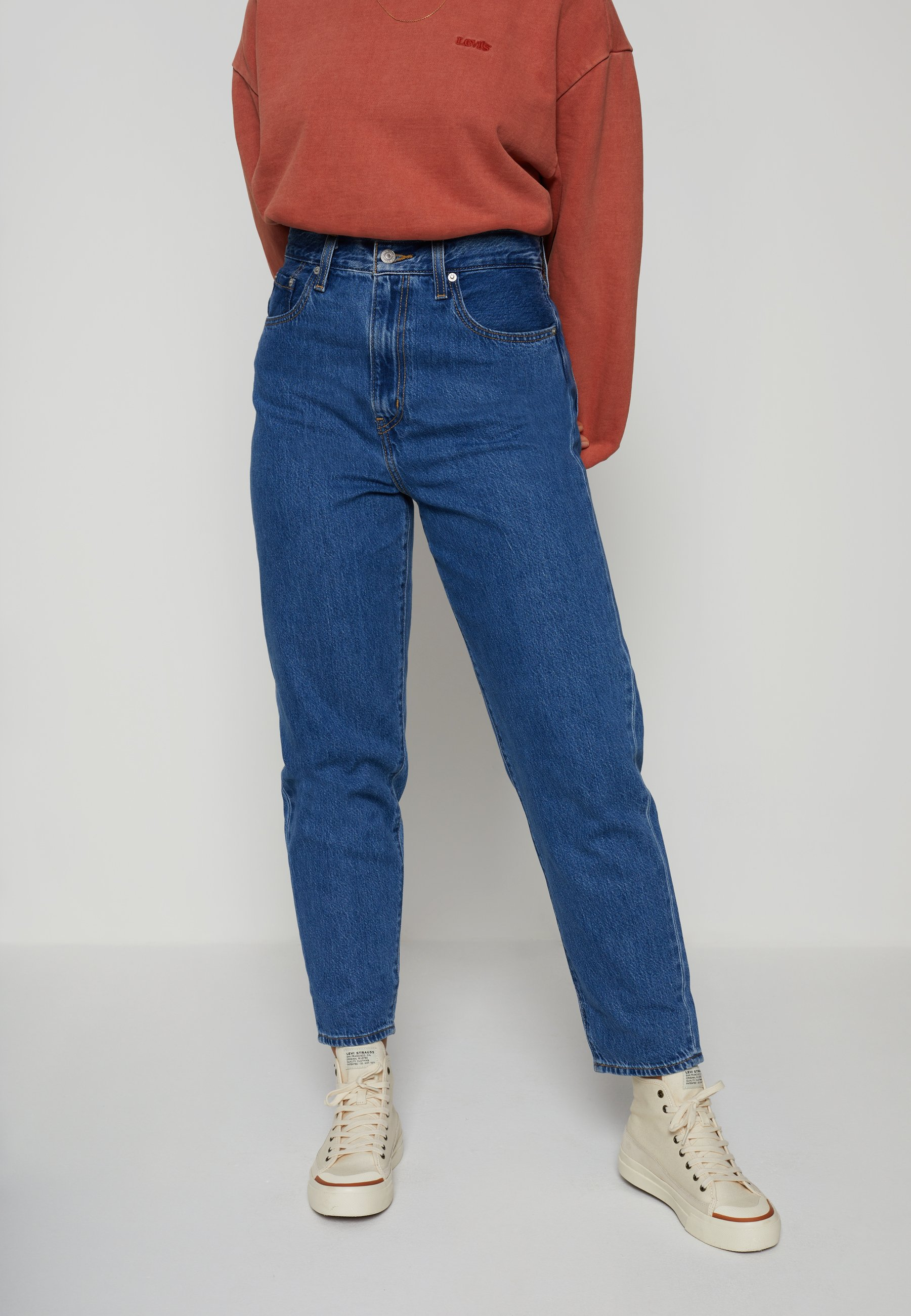 Damer HIGH LOOSE TAPER - Jeans Relaxed Fit