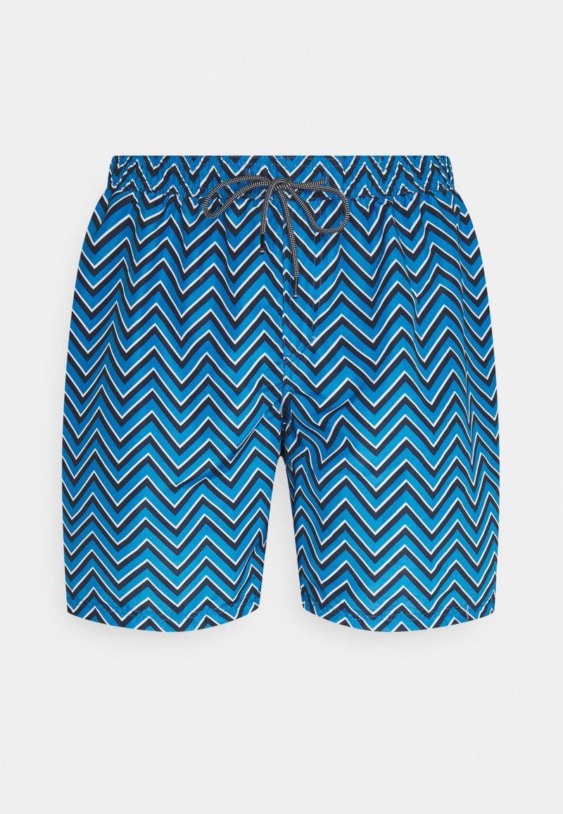 Jack & Jones - JJIBALI JJSWIMSHORTS STRIPE - Swimming shorts - french blue