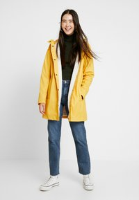 ONLY Tall - ONLVANESSA SHERPA RAINCOAT - Parkatakki - yolk yellow - 1