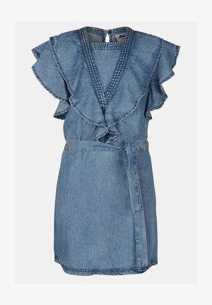 FIZA DRESS - Denimové šaty - blue