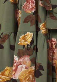Object - OBJROSE DRESS - Maxi dress - deep lichen green - 2
