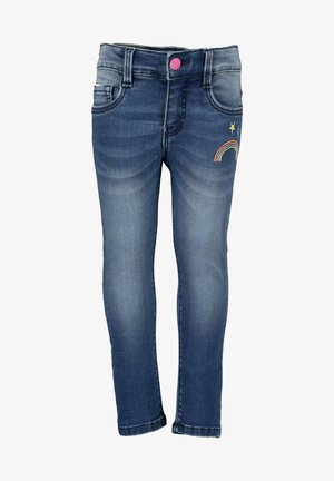 UNICORN - Slim fit jeans - jeansblau