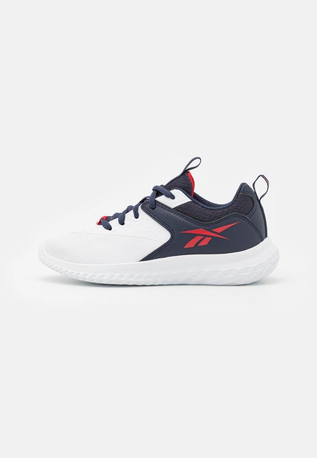 RUSH RUNNER 4.0 - Scarpe running neutre - footwear white/vector navy/vector red