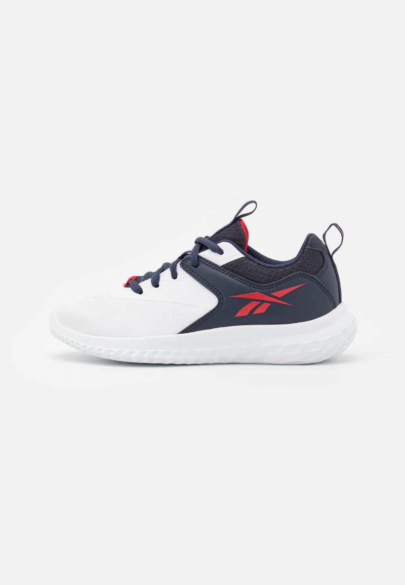 Reebok - RUSH RUNNER 4.0 - Scarpe running neutre - footwear white/vector navy/vector red