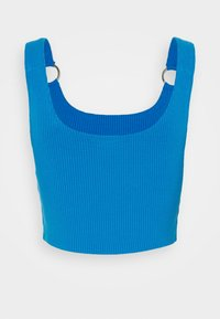 Weekday - PIERA SINGLET - Toppe - blue