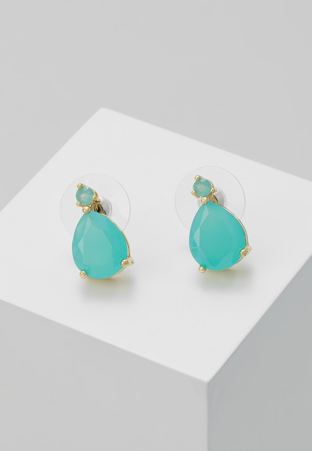 JUDITH SMALL DROP EAR - Earrings - turquoise