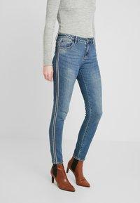 Opus - ELY DENIM TAPE - Slim fit jeans - fresh mind blue - 0