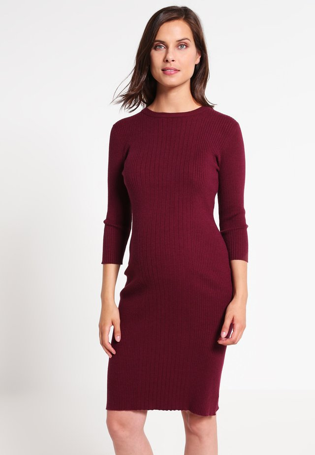 Jumper dress - wine