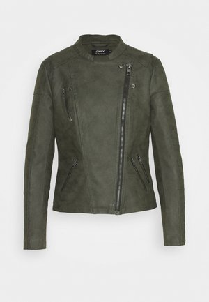 ONLAVA OTW NOOS - Faux leather jacket - rosin