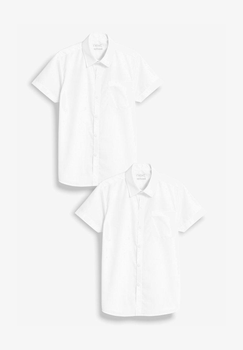 Next - 2 PACK - Vapaa-ajan kauluspaita - white