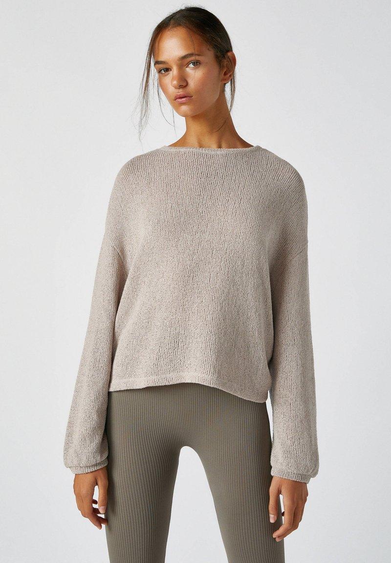 PULL&BEAR - Jumper - light grey