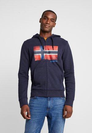 BIBU - Zip-up hoodie - blue marine
