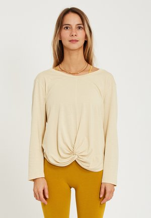 NAMASKHAR - Long sleeved top - vanille
