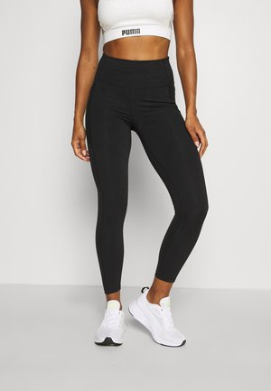 TRAIN FOREVER HIGH WAIST 7/8 - Tights - black
