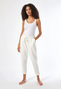 Dorothy Perkins - Tracksuit bottoms - white - 1