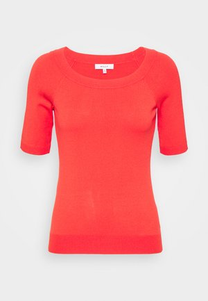 BOAT NECK - T-shirt basic - summer coral