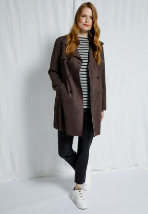 FEMME GRANDES TAILLES REVERS, DOUBLE FA - Trench - expresso
