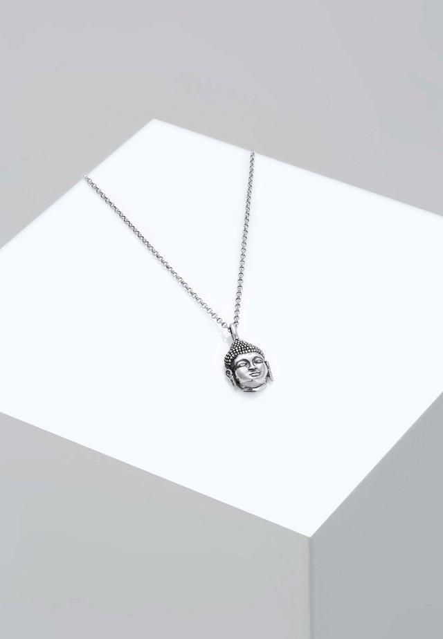 BUDDHA - Collier - silver-coloured