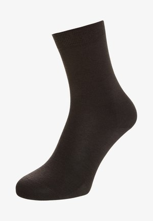 FALKE Softmerino Socken - Chaussettes - dark brown