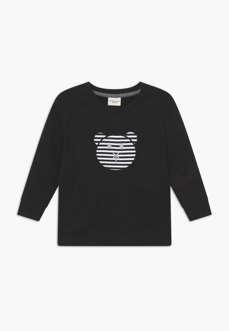 Turtledove - APPLIQUE BEAR - Sweatshirt - black