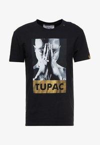 Replay - 2PAC TEE - Print T-shirt - black - 3
