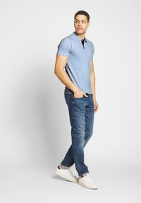 Selected Homme - SLHLUKE SLIM FIT - Polo shirt - skyway - 1