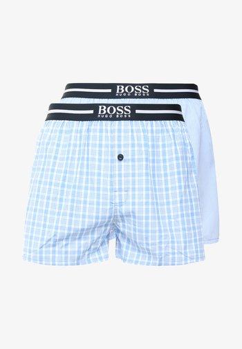 2 PACK - Boxer shorts - open blue