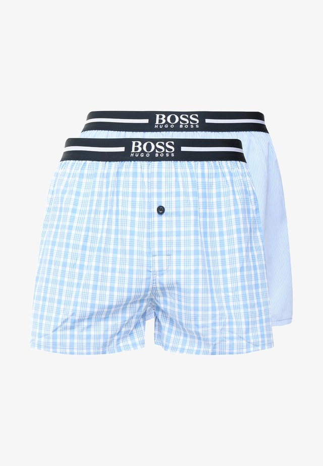 2 PACK - Boxer shorts - open blue