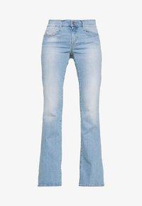 Diesel - D-EBBEY - Flared Jeans - blue denim - 4