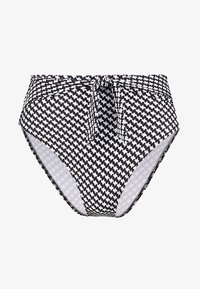 VINTAGE CHECKS HIGHWAIST BOTTOM - Bikinibroekje - black/offwhite