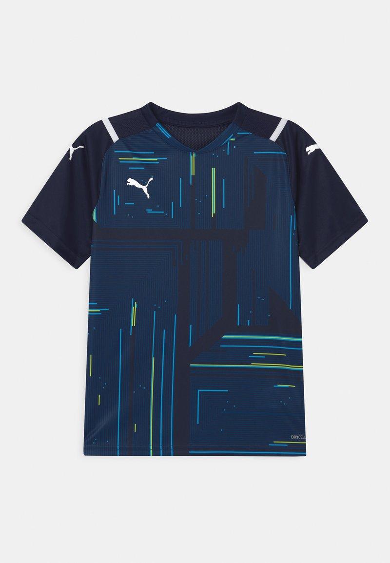 Puma - TEAM ULTIMATE - Print T-shirt - peacoat