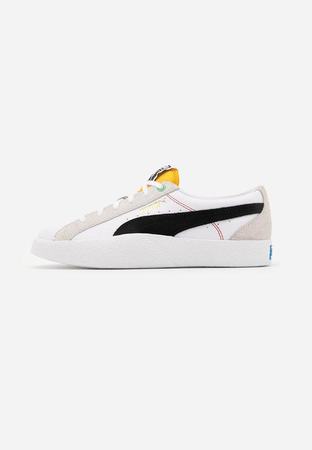 LOVE  - Sneakers basse - white/black