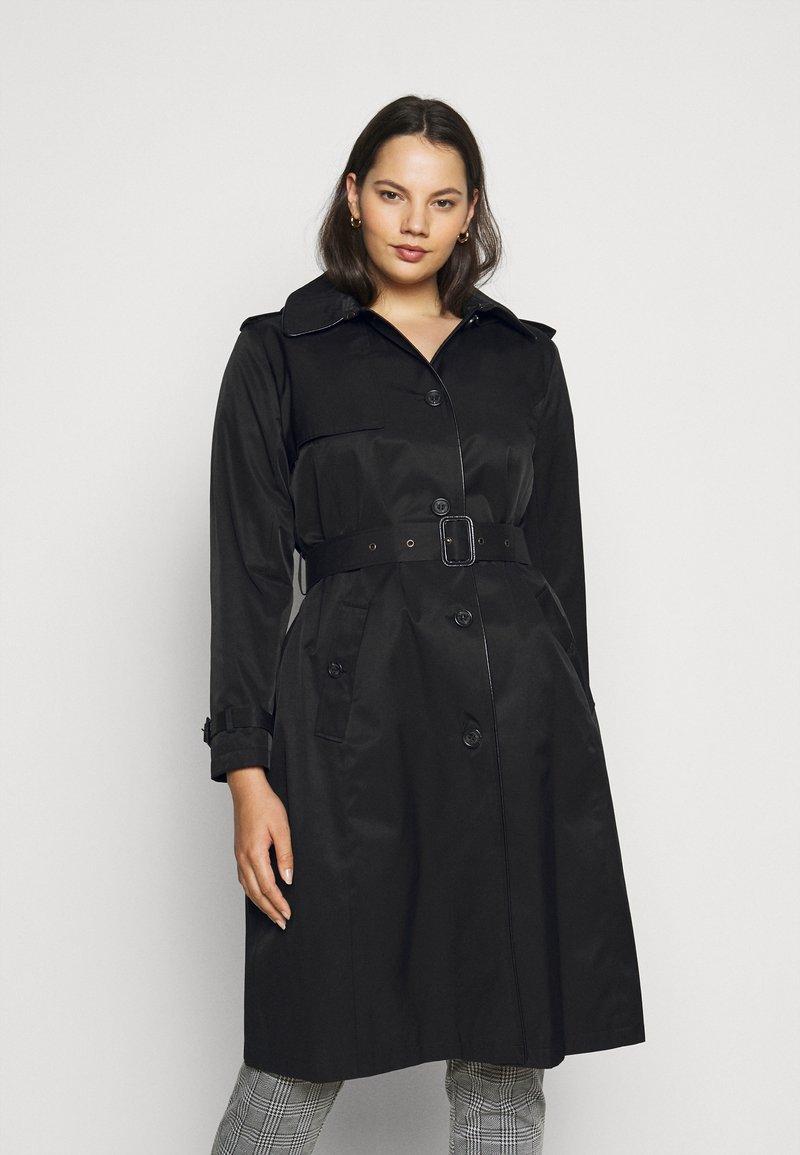 Lauren Ralph Lauren Woman - Trenchcoats - black