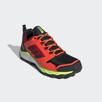 adidas Performance - TERREX AGRAVIC TRAIL RUNNING SHOES - Løbesko trail - black - 4
