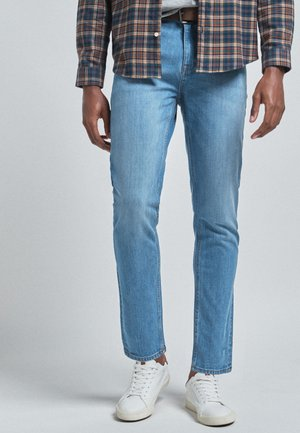 WITH STRETCH - Slim fit jeans - mottled blue