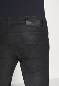 INDICODE JEANS - PITTSBURG - Jeansy Slim Fit - ultra black - 7