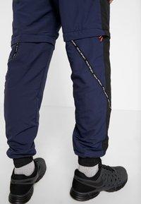 Penn - MENS ZIP OFF TRACK PANT - Tracksuit bottoms - navy/black - 3