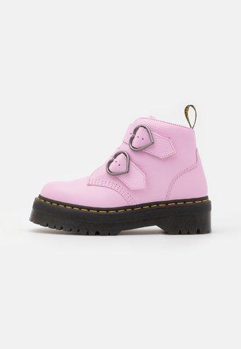 DEVON HEART - Kotníkové boty na platformě - milled