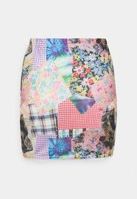 NEW girl ORDER - COTTAGE MIXED PRINT - Mini skirt - multi - 1