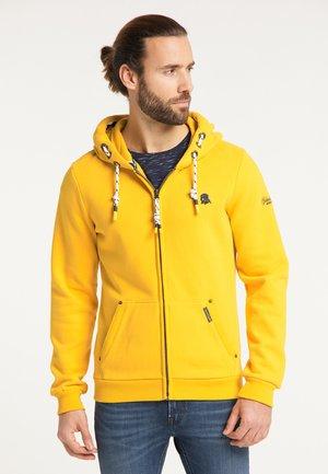 Zip-up sweatshirt - senf