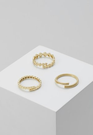 JOY 3PACK - Ringe - gold-coloured