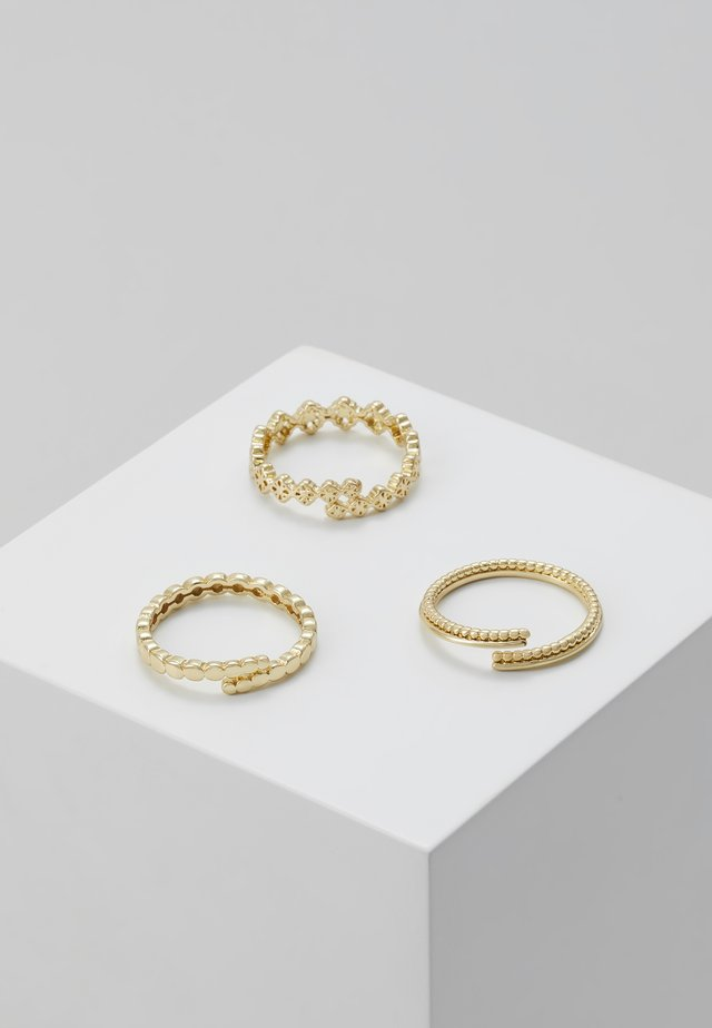 JOY 3PACK - Ring - gold-coloured