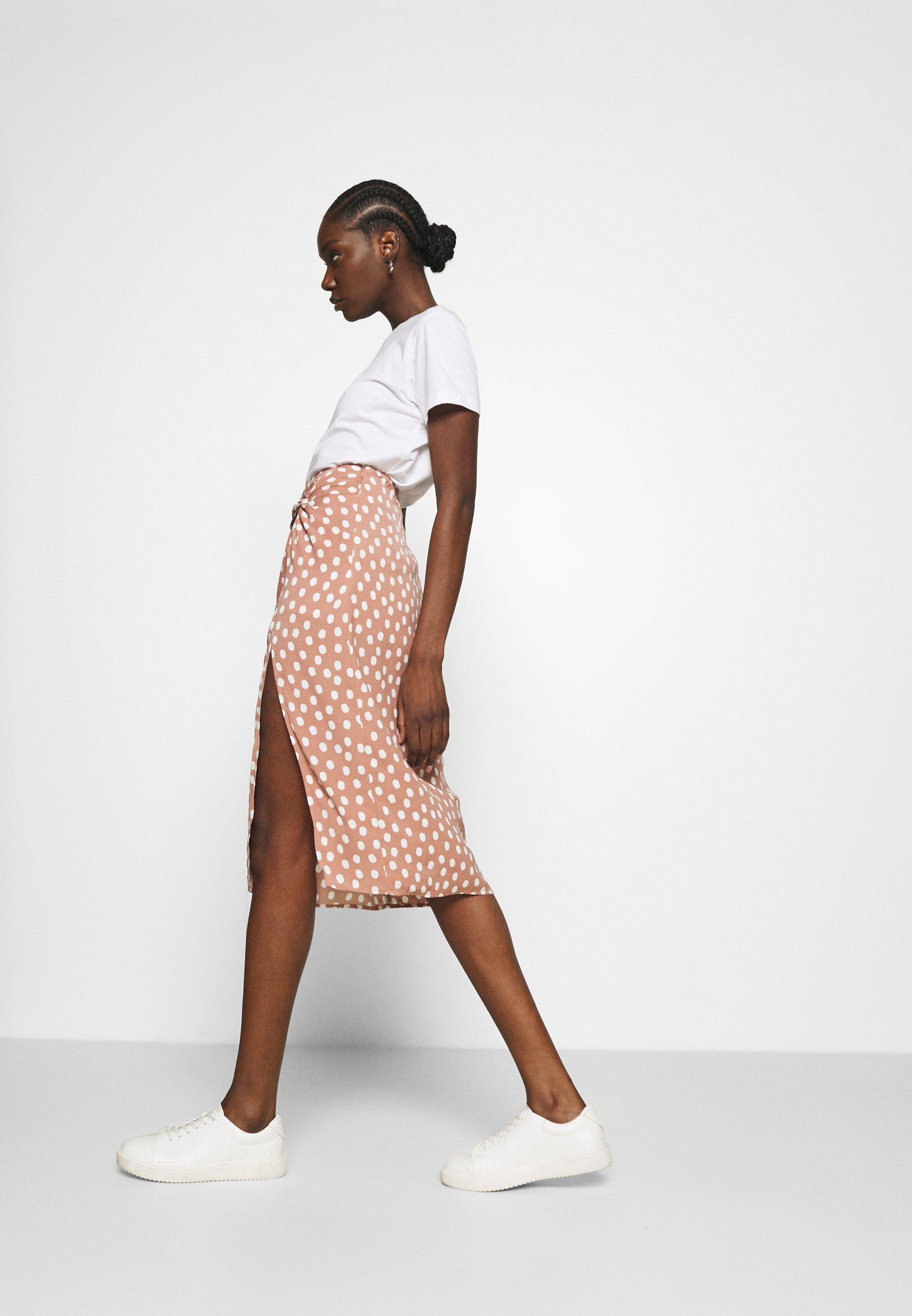 Women SOFT MIDI - A-line skirt