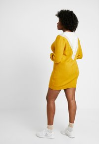 Simply Be - ELEVATED ESSENTIALS V-NECK DRESS - Strikket kjole - colour block chevron - 3