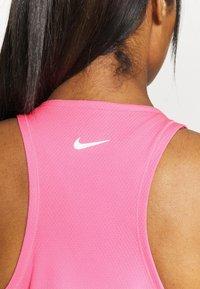Nike Performance - RUN TANK - Camiseta de deporte - pink glow/white - 3
