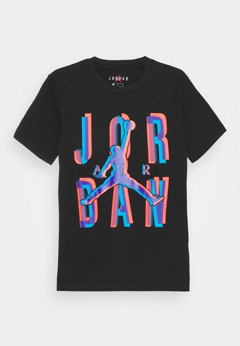 Jordan - SPACE EXPLORATION TEE UNISEX - Printtipaita - black