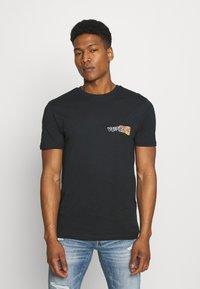Volcom - WORLDS COLLIDE BSC SS - Print T-shirt - black - 2